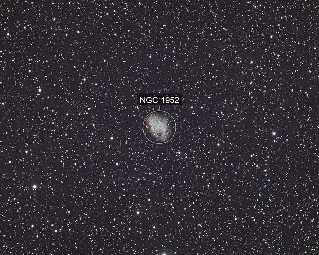 Messier 1 - LRGB