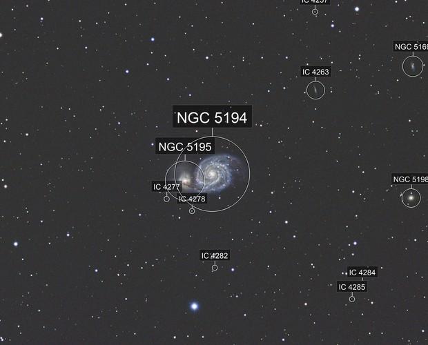 M51 from Denver, Colorado (2017)