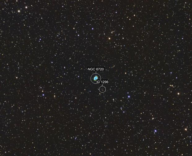 M57: Strange LRGB + NB Mashup