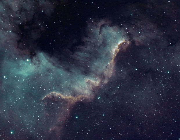NGC 7000 The North America Nebula
