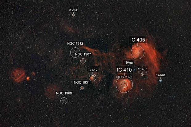 Autour d'IC405