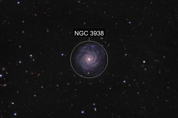 NGC3938 & supernova 2017ein