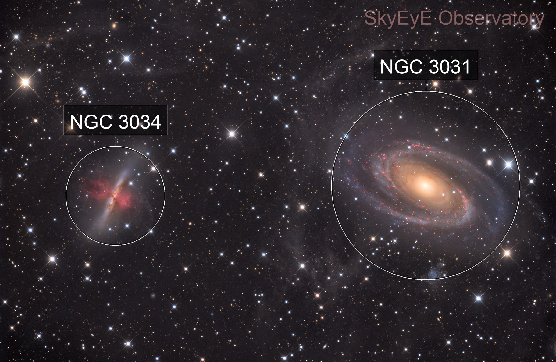 M81,M82 and some IFN