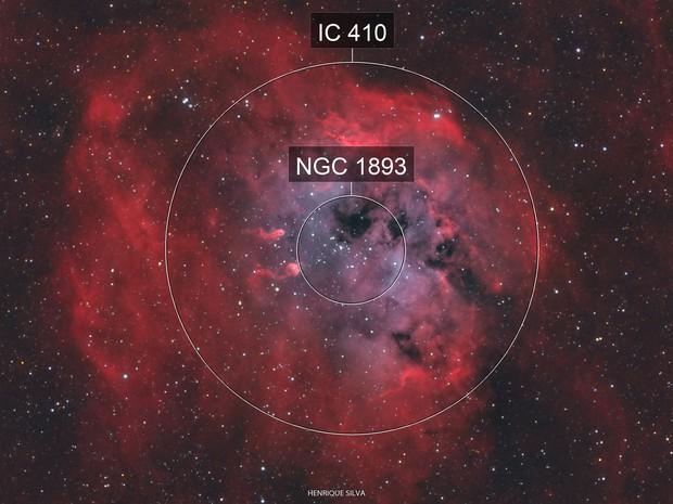 IC410 - Tadpole Nebula