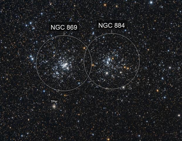 C14 - NGC 884, NGC 869 Double cluster