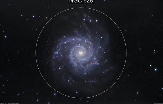 Messier 74 - The Phantom Galaxy