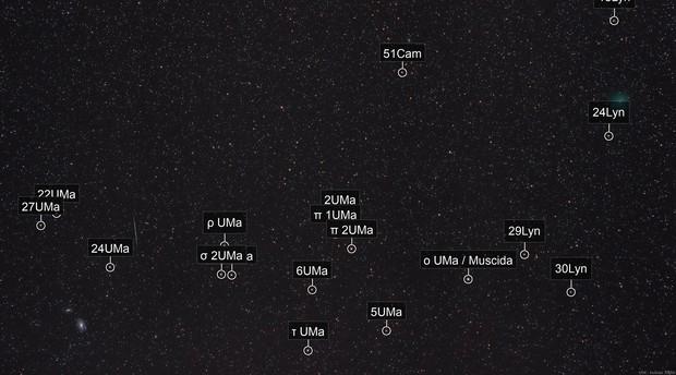 46P/Wirtanen  &  M81-M82