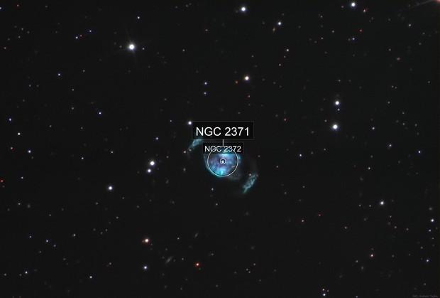 """NGC 2371 - """"Candy"""" Nebula"""