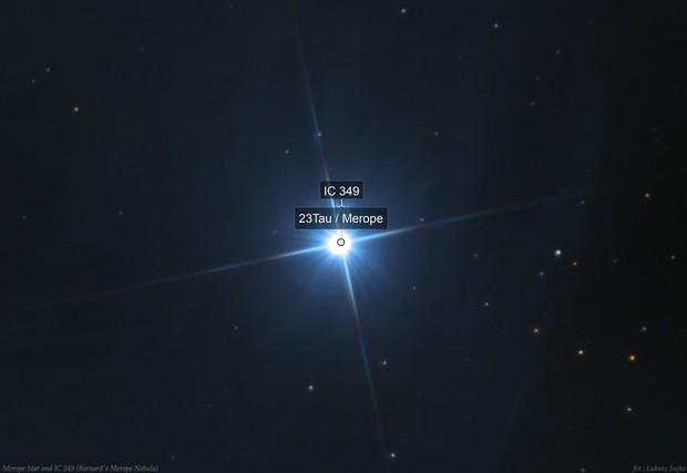 IC 349 - Barnard's Merope Nebula