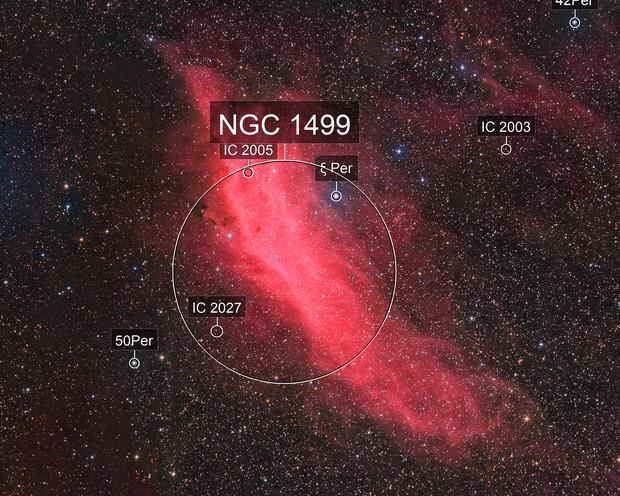 California Nebula (NGC 1499) HaRGB