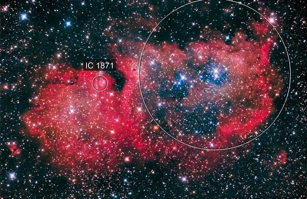 Soul Nebula (IC 1848)