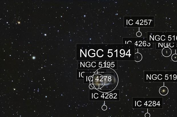 M51 interaction