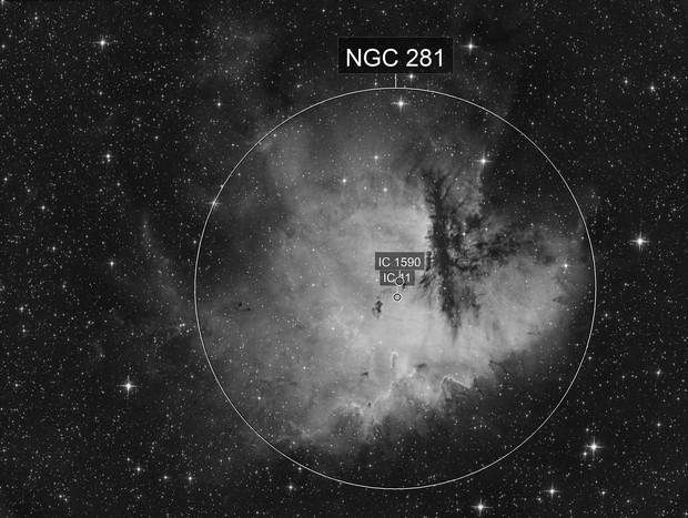NGC281 Ha