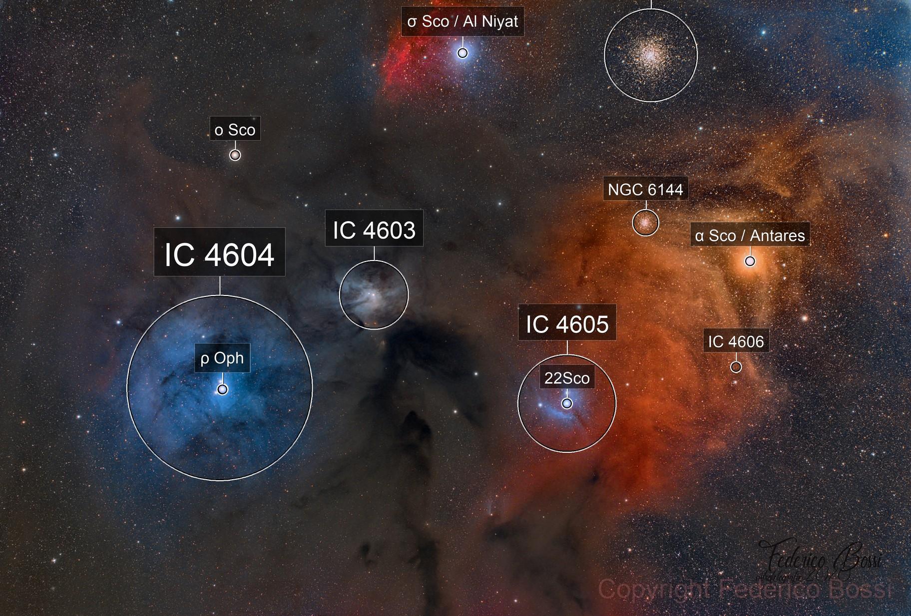 Complesso nebuloso di Antares