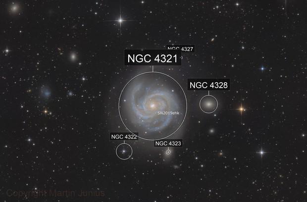 M100 with Supernova SN2019ehk