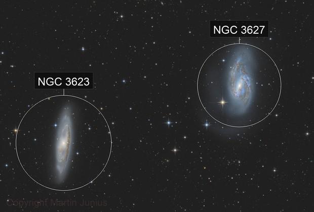 M65 / M66 Galaxies