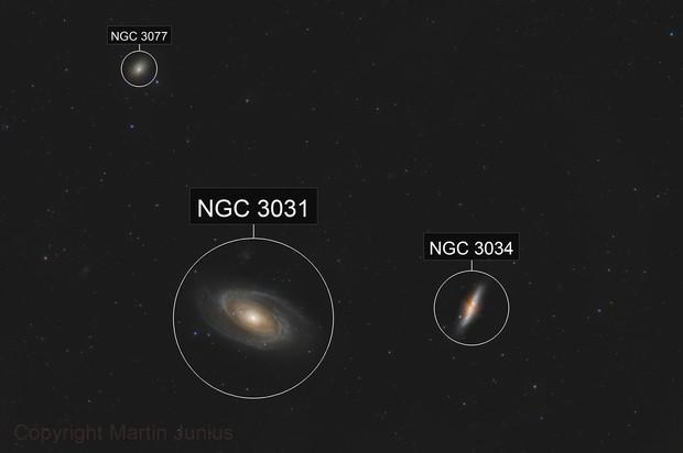 Bode's Galaxy - M81 / M82 - Feb 2019 v1a