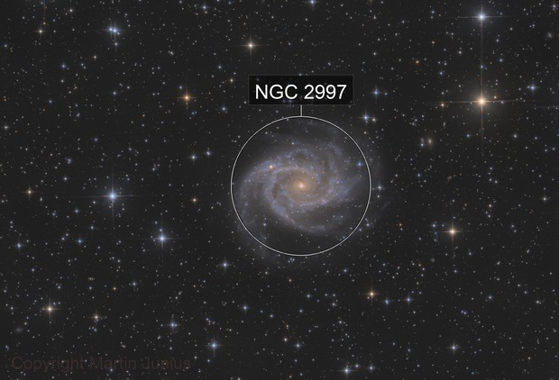 NGC 2997 - Spiral Galaxy in Antlia
