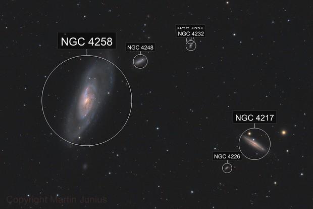 M106 - Galaxy in Canes Venatici - May 2020 v1