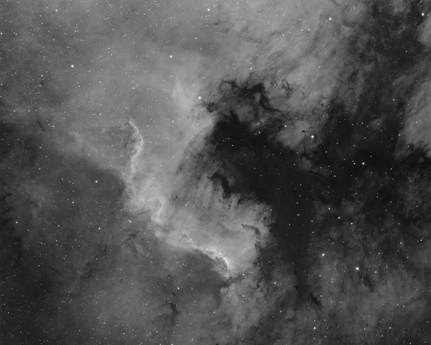 NGC 7000 - First light with Skywatcher Esprit 100ED