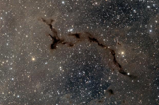 """Barnard 150 (B150) """"Seahorse"""" Nebula"""
