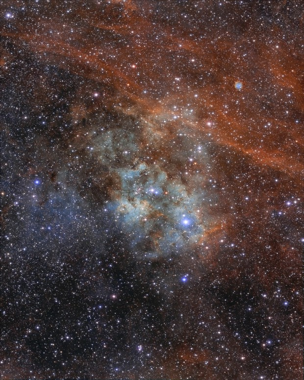 Sh2-115 and Abell 71