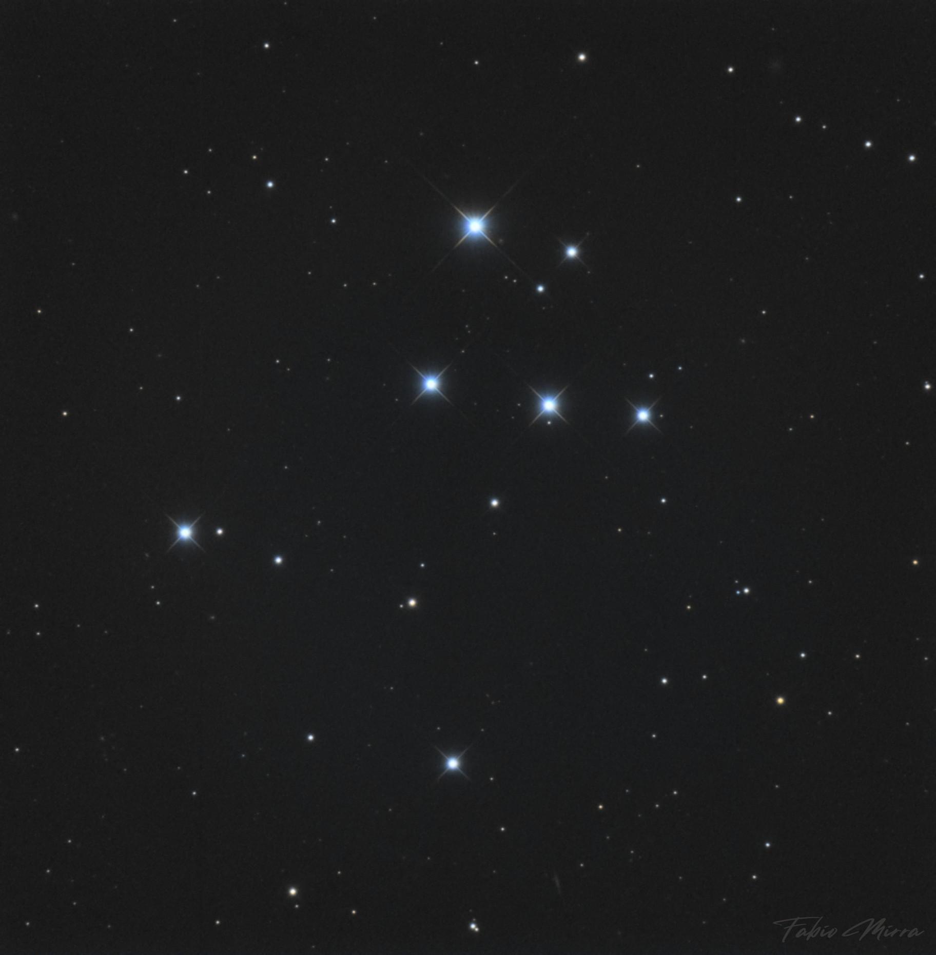 Upgren1 - Open cluster remnant