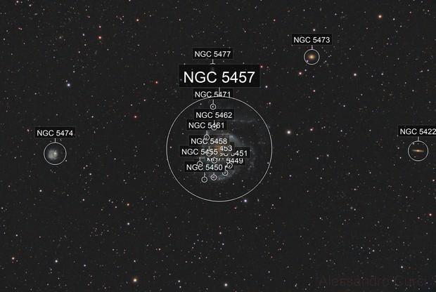 M 101 - Galassia in Orsa Maggiore
