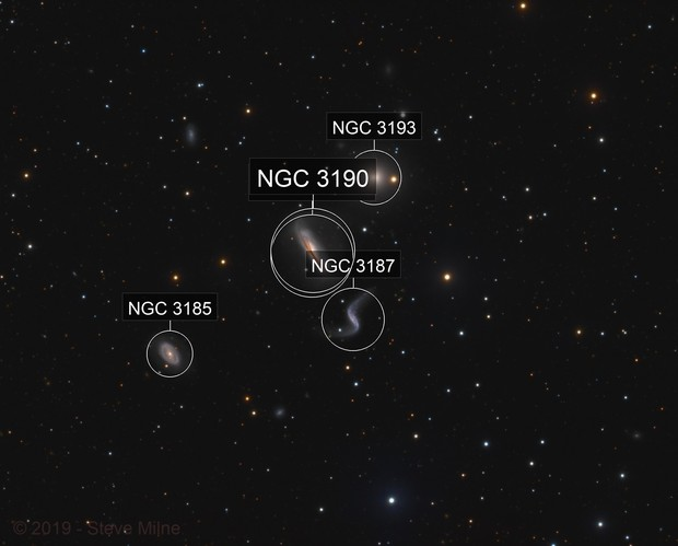 Hickson 44 Galaxy Group in Leo