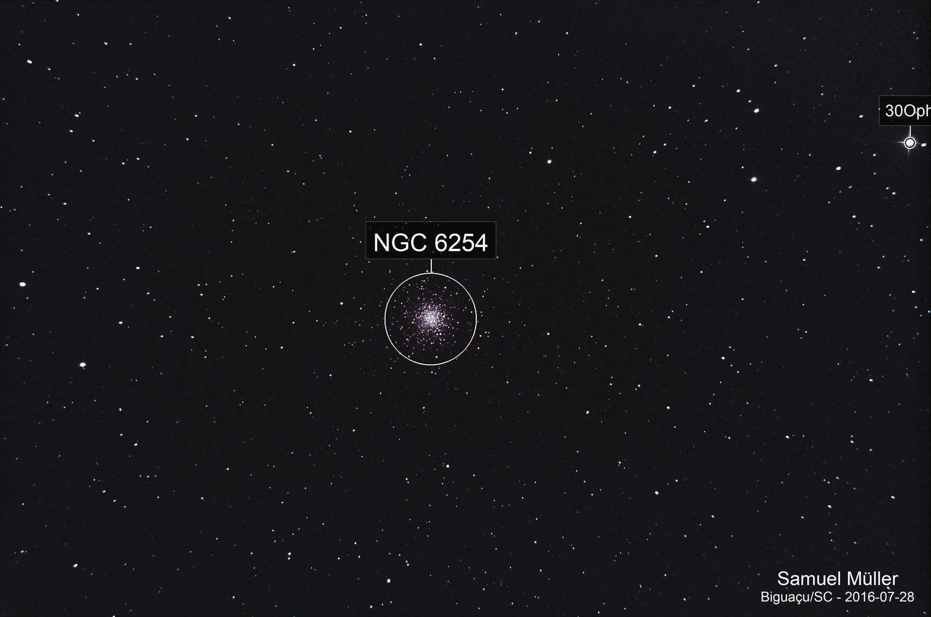 Messier 10 - Globular cluster
