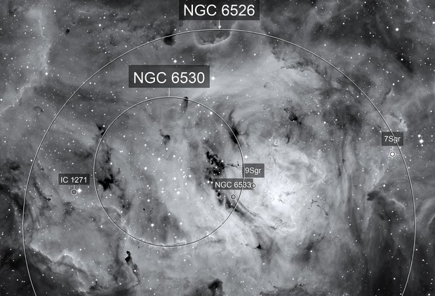 The Heart Of The Lagoon Nebula