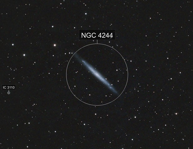 Silver Needle Galaxy