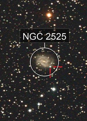 NGC 2525 and Supernova 2018gv