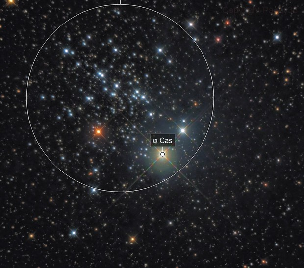 Cluster NGC 457
