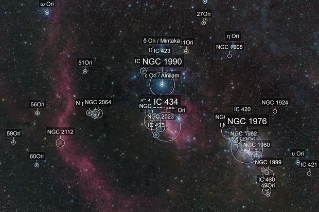 Partial Orion Molecular Cloud Complex