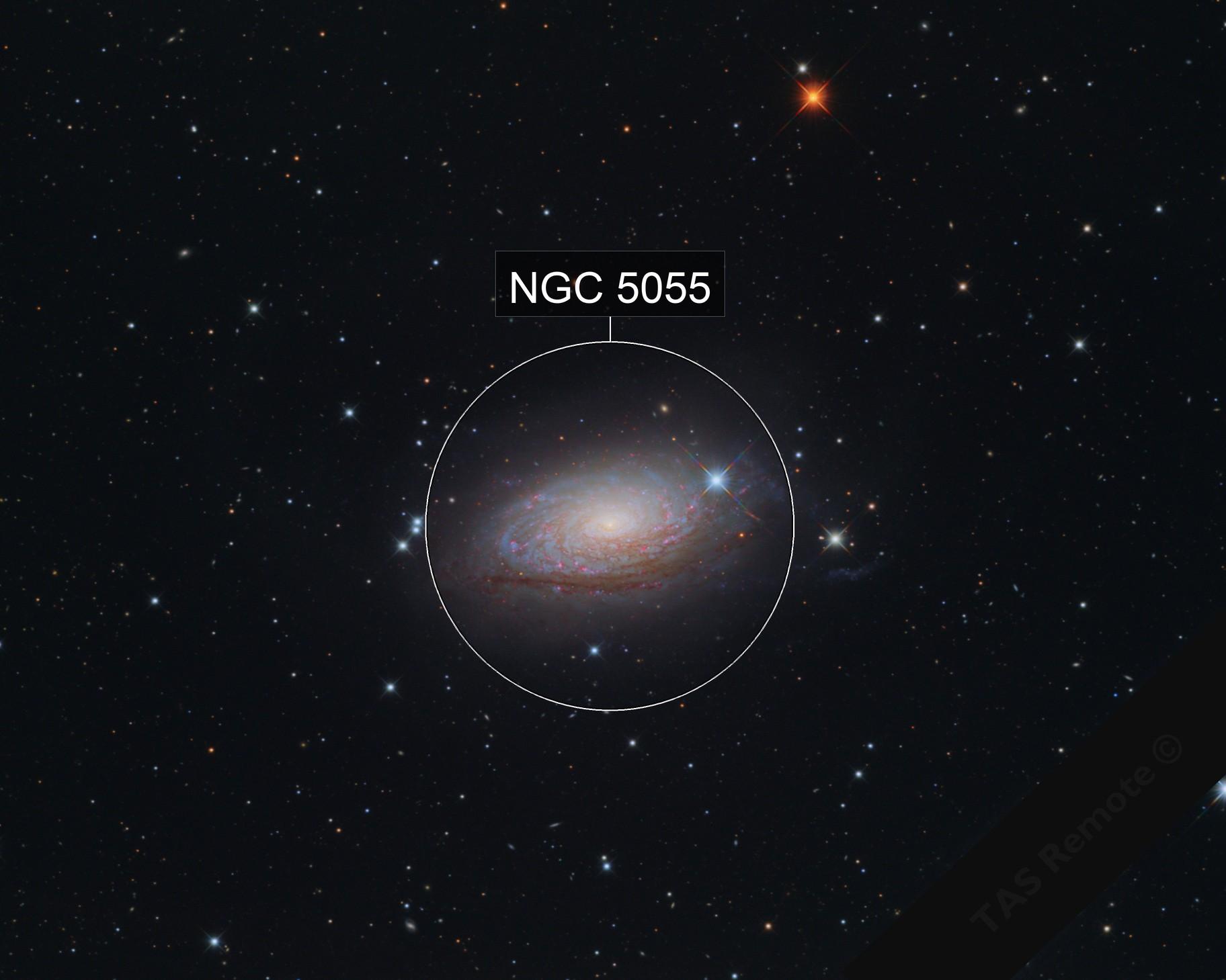 M63 Sunflower Galaxy