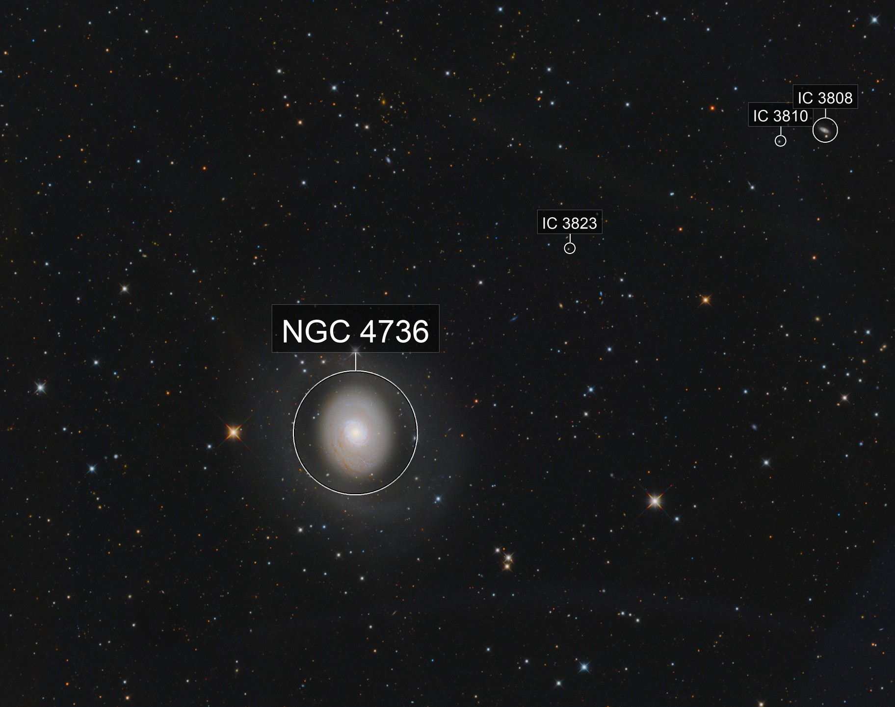 M94 Cat's Eye Galaxy
