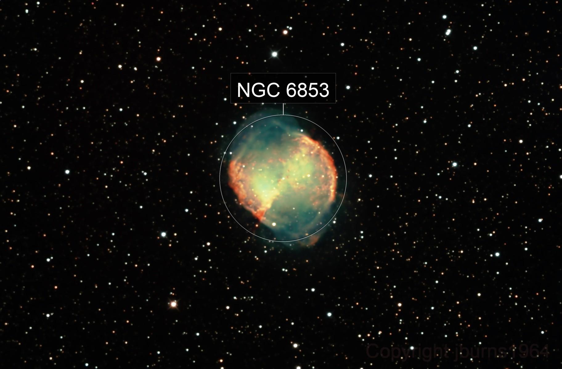 M27 Dumbell Nebula