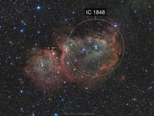 Soul Nebula (Westerhout 5)