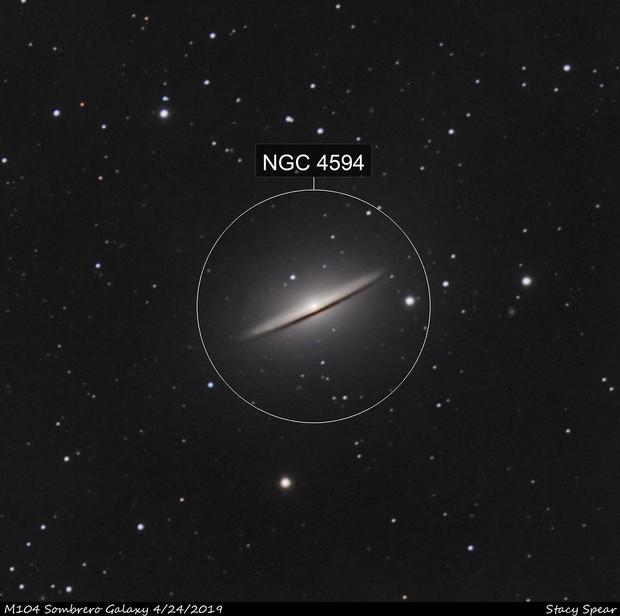 Sombrero Galaxy - First LRGB Image