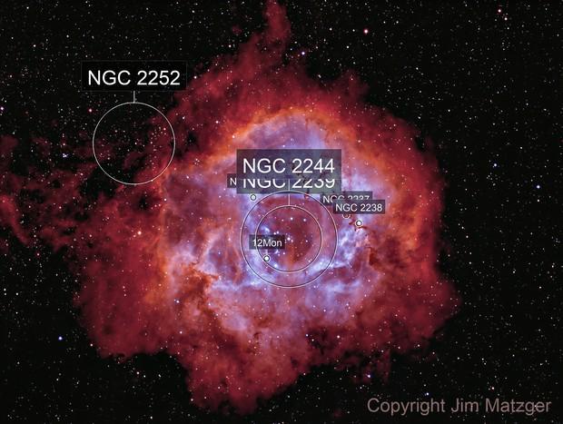 Rosette Nebula - HA/OIII