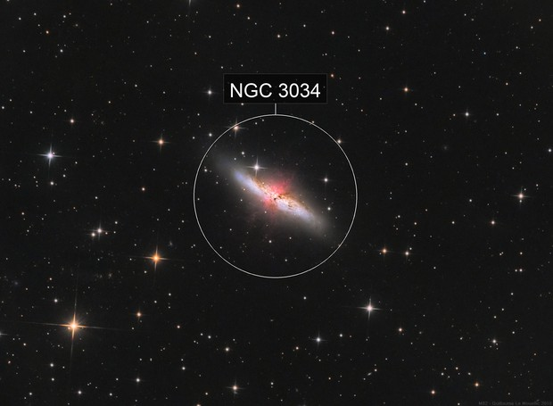 M82 with ha