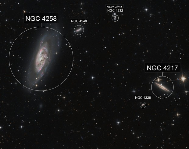 M106 With Ha 1st test