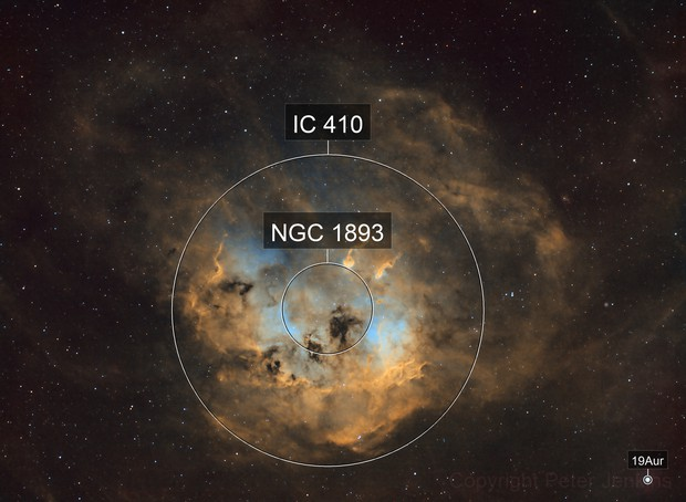 IC410 Tadpole Nebula