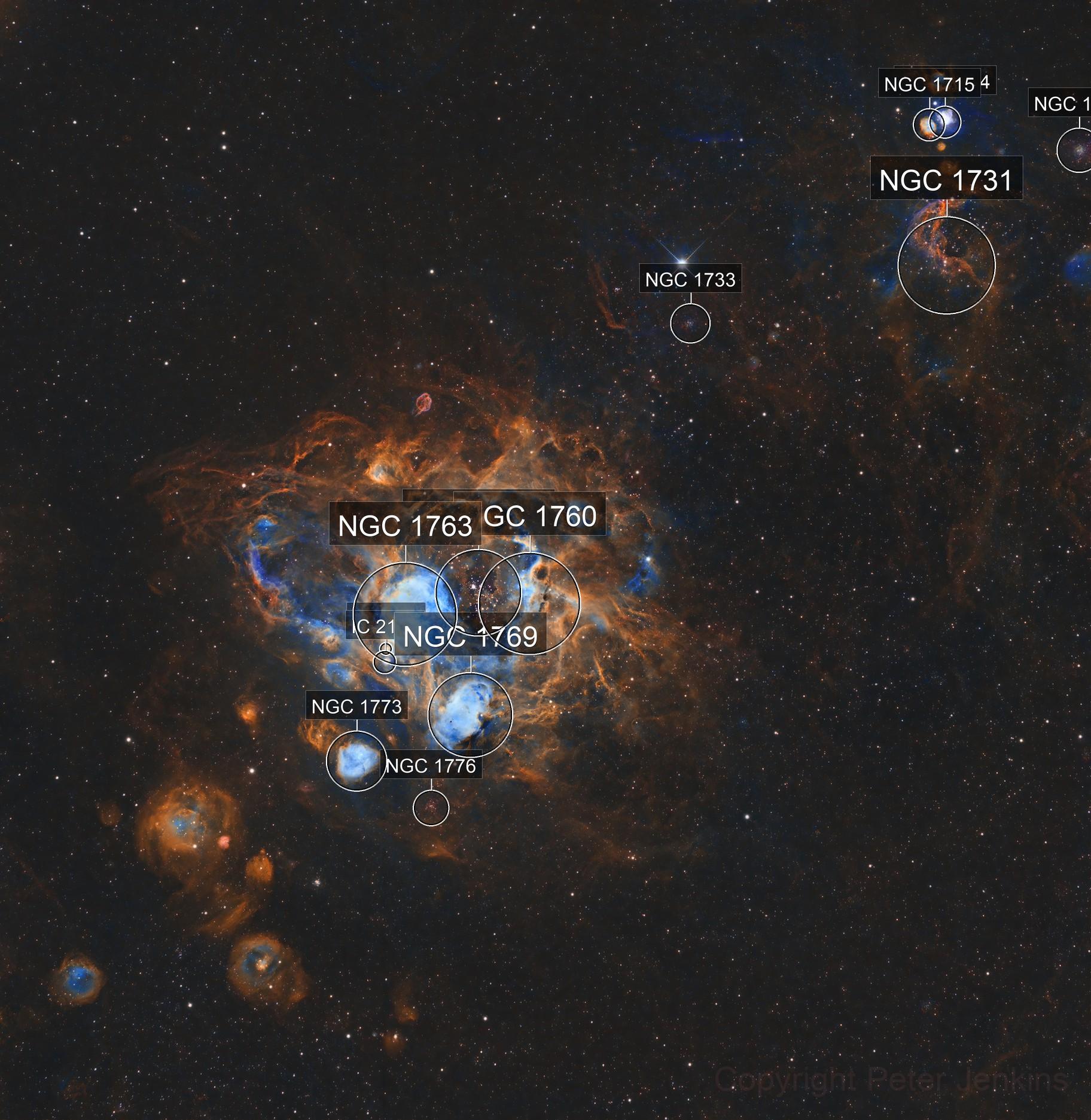 NGC1760 Bee Nebula