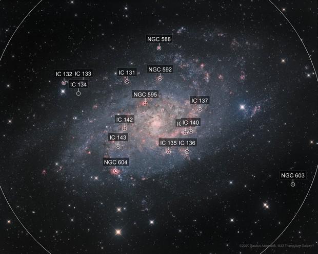 M33 Triangulum HaLRGB 60 hours