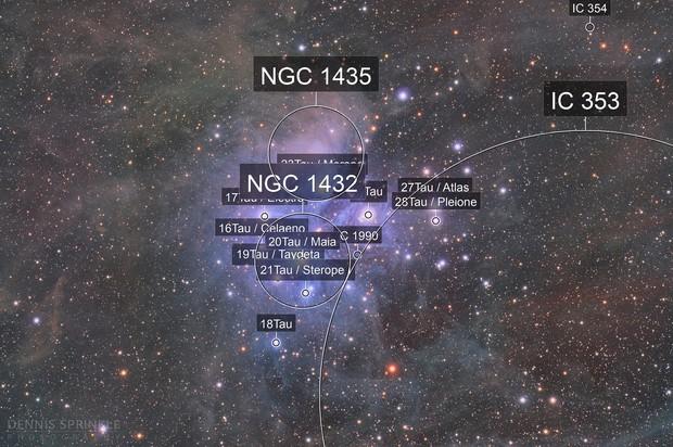 M45 - Pleiades HaLRGB