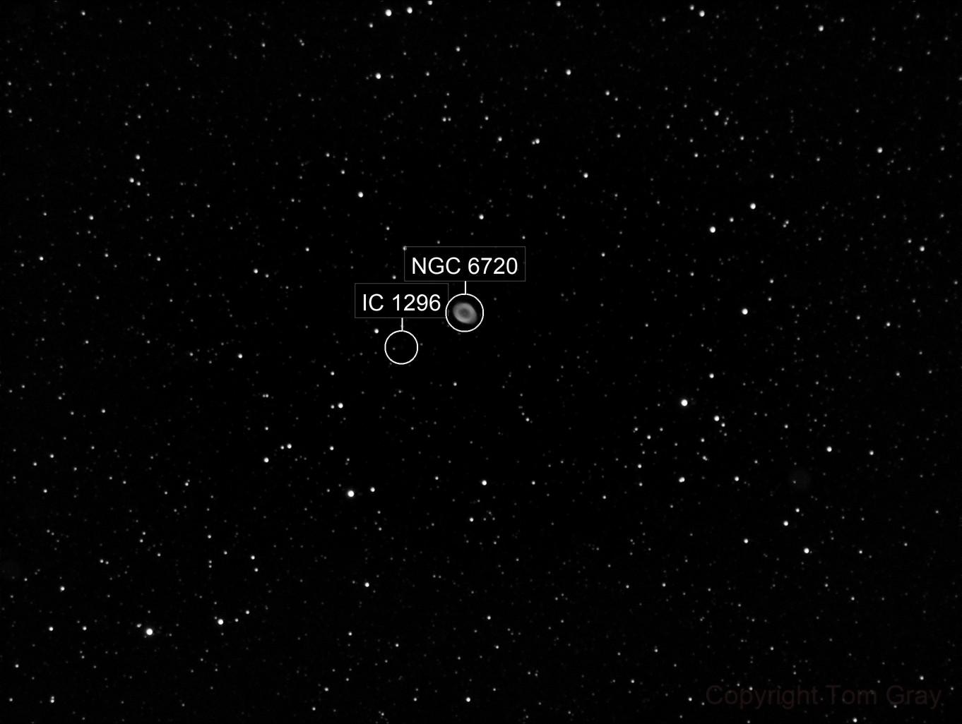 M57 - a star test?