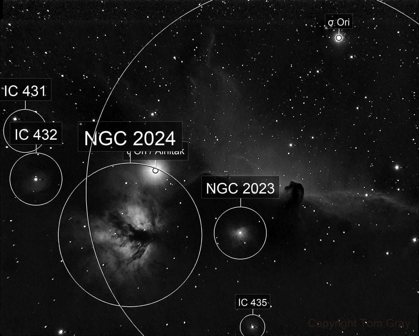 IC 434 - a light show
