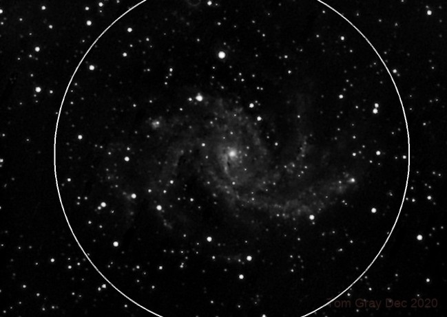NGC 6946 - New Year without fireworks